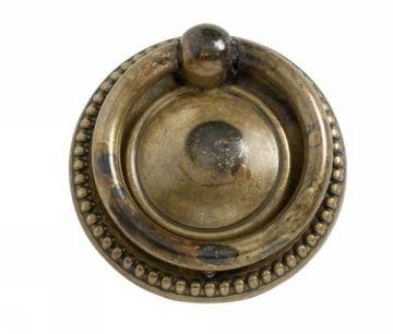 Kast Ladeknop Ring 106 40 Antiek Messing Beslag Design