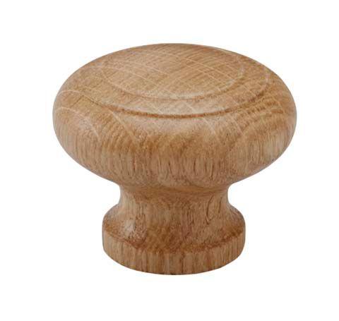 Cabinet Knob Rillan - Wood / Oak - Beslag Design