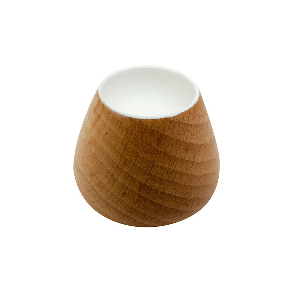 Flower Bud 34 Knob - Wood / Oak / White - Beslag Design