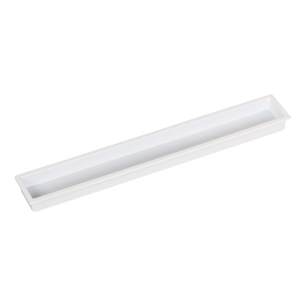 Cubic Recessed Handle - White - Beslag Design