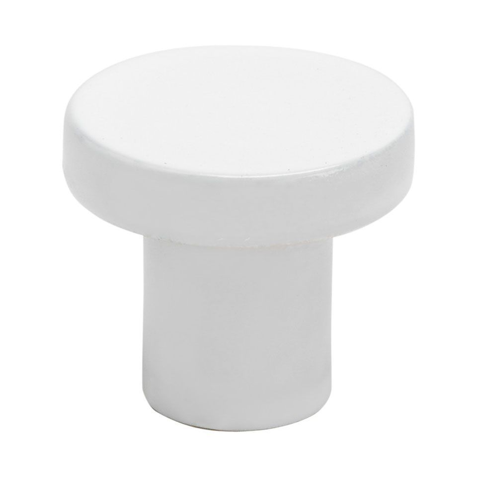 Cabinet Pull / Drawer Knob 2078 - White - Beslag Design