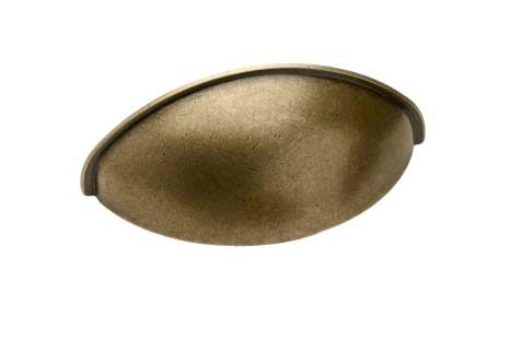 2532 Shell Handle - Oxid - Beslag Design