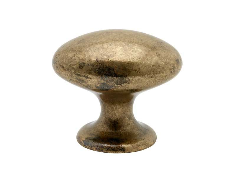 Cabinet Knob 401-40 - Antique Brass - Beslag Design