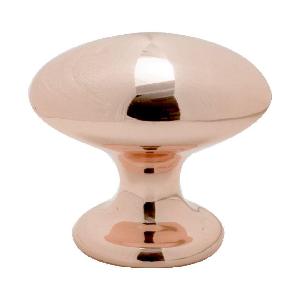 Kastknop 401-40 - Gepolijst Koper - Beslag Design