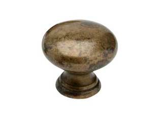 Cabinet Knob 411-24 - Antique Brass - Beslag Design