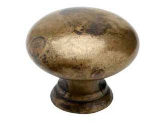 Kaapin nuppi / Laatikon vedin 411-40 - Antiikki messinki - Beslag Design