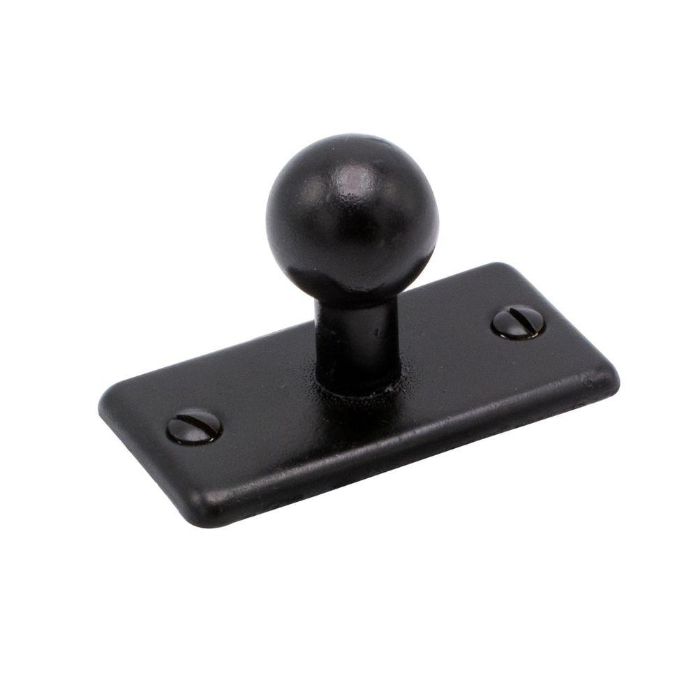 5320 Knopfgriffe - Schwarz - Beslag Design