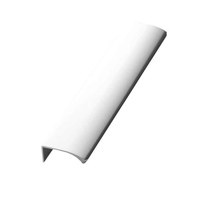 Profile Handle Edge Straight - Polished Aluminium - Furnipart