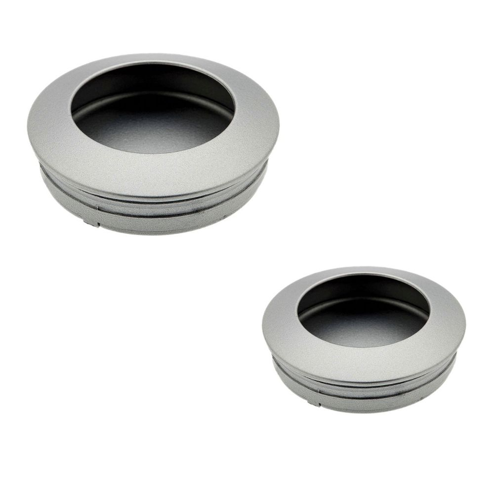 Hollow Recessed Handle - Aluminium - Beslag Design