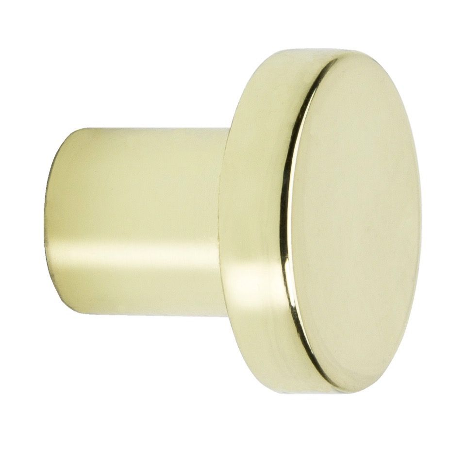 Hook  2078 - Polished Brass - Beslag Design