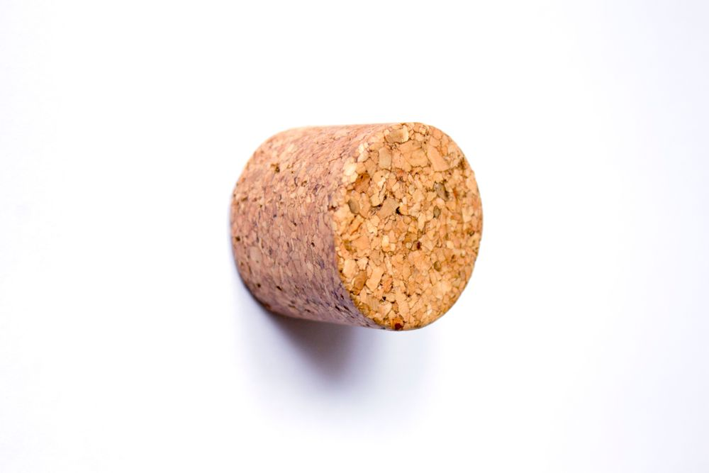 Round Medium Knob – Oiled Press Cork – Pålsson & Aronson