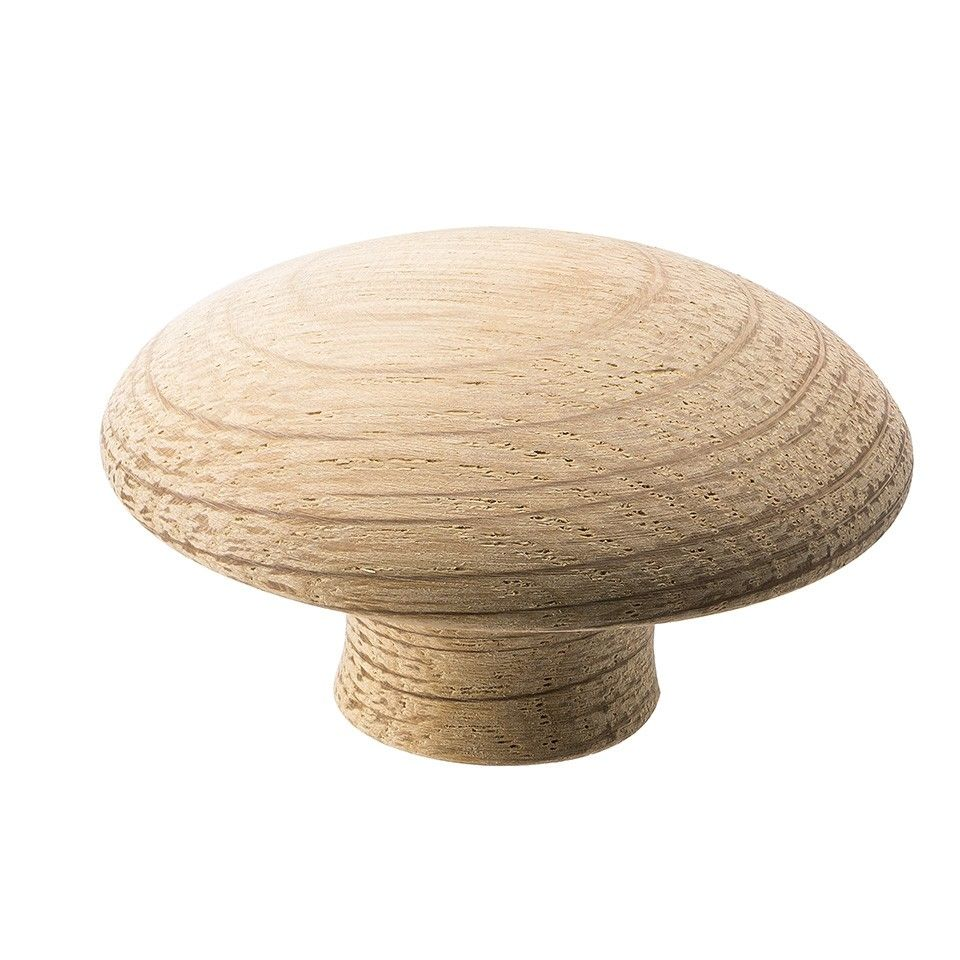 Mushroom Knopp - Olackerad Ek - Vonsild - 50 mm