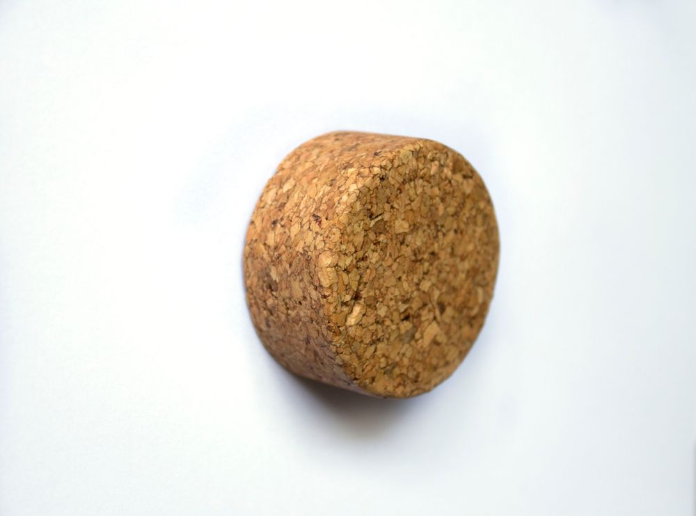 Round Large Knop – Geoliede Samengestelde Kurk – Pålsson & Aronson