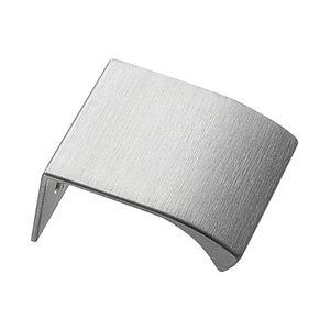 Edge Straight Profil håndtag - Rustfri stållook - Furnipart
