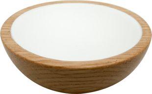 Wok 64 Knob - Wood / Oak / White - Beslag Design