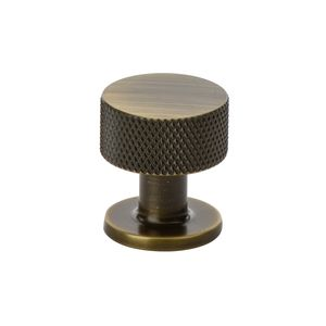 Crest Knob - Antique Bronze - Beslag Design