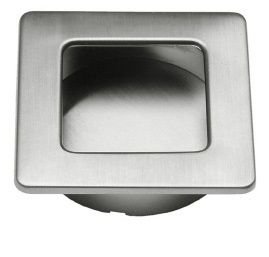 560-50 Recessed Handle - Stainless Steel - Beslag Design