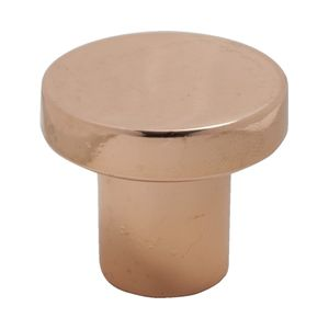 Grace Straight Copper Knob - Polished Copper - Aspa Verkstad