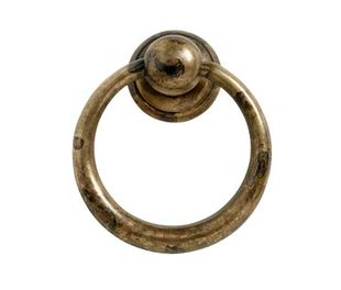 Ring 157-33 - Antiek Messing - Beslag Design