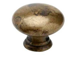 Cabinet Knob / Drawer Pull 411-40 - Antique Brass - Beslag Design