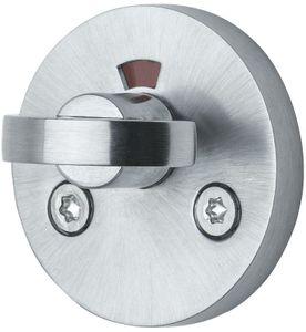 Form WC-ukse lukk - Matt harjatud kroom - Beslag Design