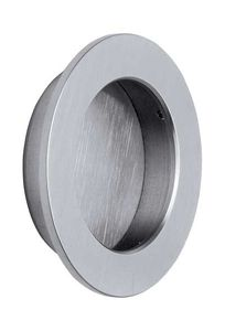 31050 Recessed Handle for Sliding Door 80 mm - Stainless Steel - Beslag Design