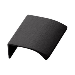Edge Straight Profile Handle - Brushed Black - Furnipart