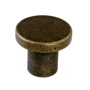 Dial Knob - Antique Brass - Esor