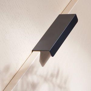 Hide Poignée Profilée - Toniton Noir - 120 mm