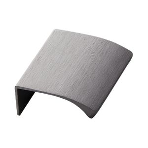 Edge Straight Profile Handle - Brushed Anthracite Grey - Furnipart
