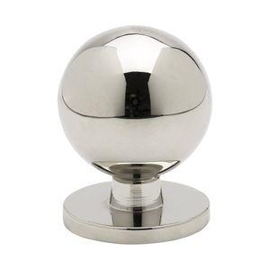 Solliden Knob - Nickel-Plated - Beslag Design