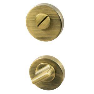 Thumb Turn Lock - Antique Bronze - Beslag Design