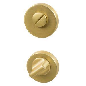 Thumb Turn Lock - Brushed Brass - Beslag Design